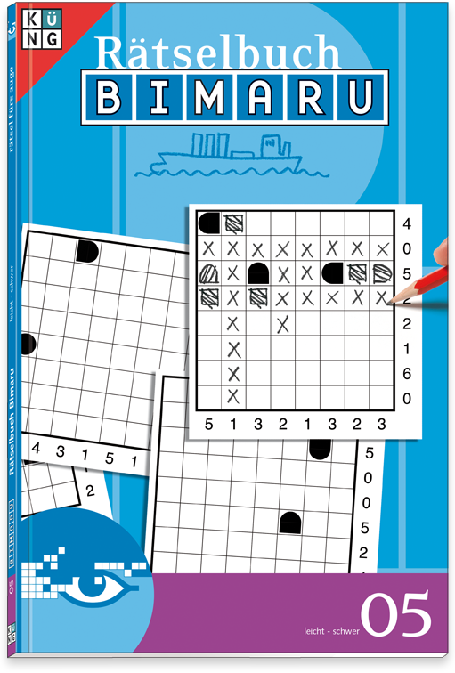 Bimaru 05 Rätselbuch