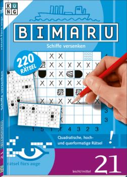 Bimaru 21 Taschenbuch